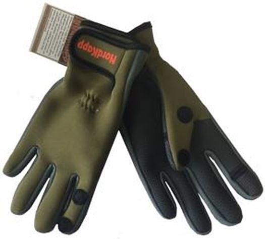 Перчатки неопреновые Nordkapp  Oldervik Glove, зеленые